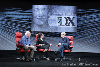 Apple chief Tim Cook speaking at AllThingsD Conference in May
