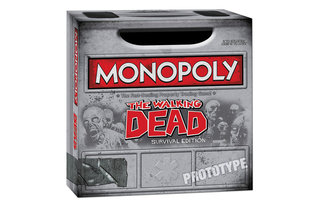 The Walking Dead Monopoly and Risk boardgames shambling their way toward you for August
