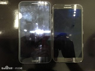 leaked samsung galaxy note 3 picture said to be entirely different phone three prototypes detailed image 2