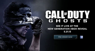 Activision sets Call of Duty: Ghosts release for 5 November, available now for pre-order