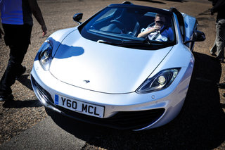 McLaren MP4-12C Spider pictures and hands-on