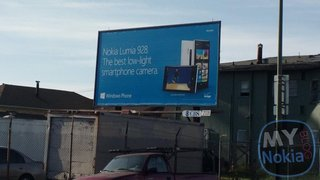Verizon bound Nokia Lumia 928 gets early billboard reveal
