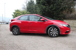 honda civic 1 6 i dtec se review image 4