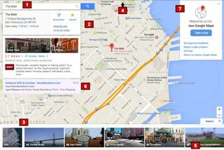 New look Google Maps inbound