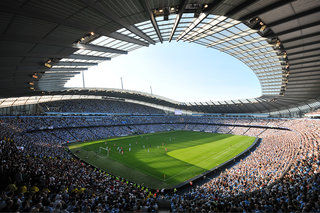 Manchester City installing in-stadium Wi-Fi for fans to share experiences on Twitter and Facebook