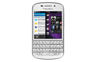 White BlackBerry Q10 on sale at Carphone Warehouse