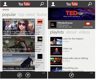 WinPhone YouTube app update removes downloads to  appease Google