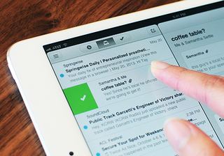 Mailbox comes to iPad, now optimised for the bigger screen