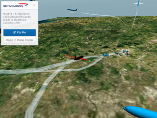 app of the day plane finder 3d review iphone and android  image 4