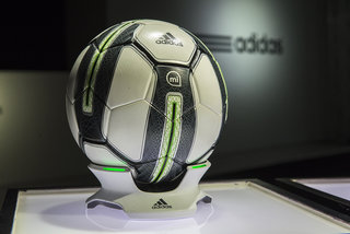 Adidas miCoach Smart Ball: The iOS-linked football that measures your every kick