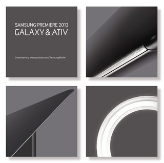 Samsung Galaxy phone and ATIV tablet announcements due 20 June