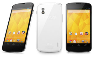 White Nexus 4 official, ships 29 May
