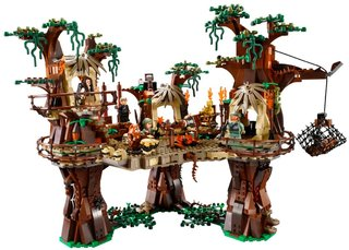 Lego reveals 1,990 piece Lego Ewok Village