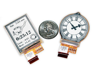 1.73-inch E Ink Mobius flexible display for smart watches introduced