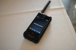 Thuraya SatSleeve pictures and hands-on