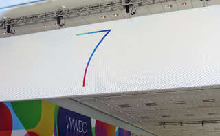 WWDC 2013: Apple iOS 7 banners hint at flat design