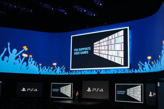 Sony: PS4 supports used games, doesn't need to be connected, and won't require you to check-in online