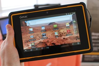 BOOM! Getac Z710-Ex Android tablet is literally bomb proof