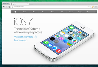 Apple neglects black iPhone in iOS 7 marketing - probably just for looks