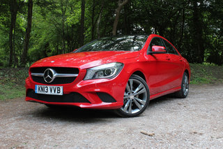 Mercedes-Benz CLA 220 CDi Sport pictures and first drive