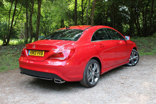 mercedes benz cla 220 cdi sport pictures and first drive image 14