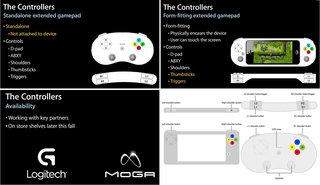 Apple working with Logitech and MOGA on MFi game controllers, design references revealed