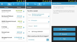 app of the day barclays mobile banking review android  image 2
