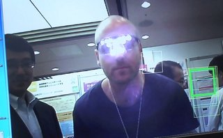 Google glass anti-glasses created, avoid being recognised when you are out