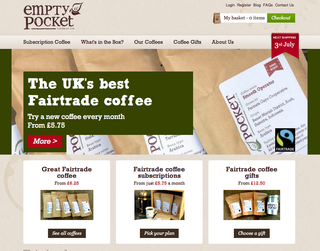 Website of the day: Empty Pocket Traders