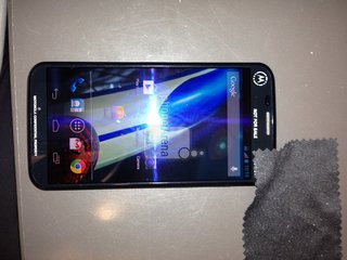 Motorola X picture leaked, reportedly being tested on Sprint's LTE network