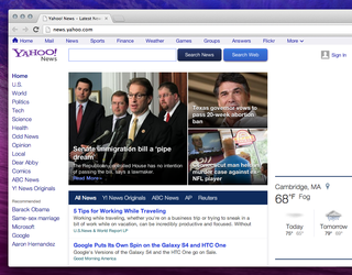 yahoo news touts new design customisable stream and speed improvements image 2