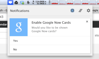 Google Now Cards to land in Chrome?
