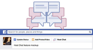 """Facebook reportedly tests """"Host Chat"""" chat rooms feature"""