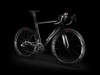 Factor Vis Vires road bike integrates ANT+ for all your data needs