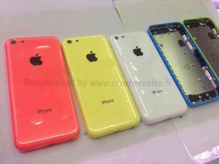 Multicoloured budget iPhone reportedly snapped in China