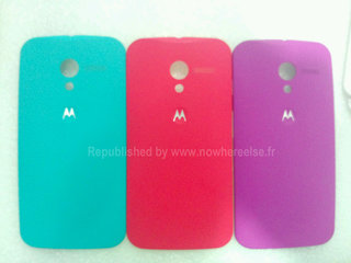 Moto X case leak shows it too is going down the rainbow route
