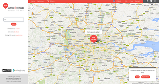 Website of the day: what3words