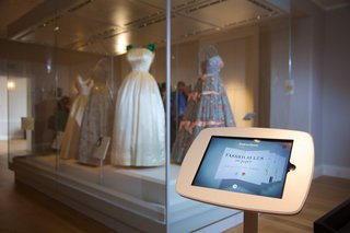 Paper iPad app turns Royal fashion exhibit interactive at Kensington Palace