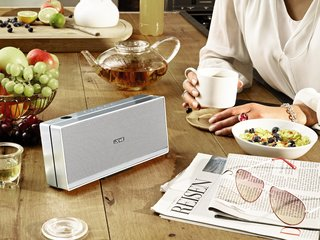 Loewe Speaker 2go: The speaker for every room, especially the kitchen