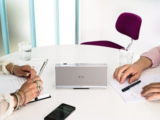 Loewe Speaker 2go: The speaker for every room, especially the home office