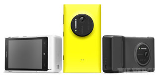 Another round of Nokia Lumia 1020 press pics leak, camera grip confirmed