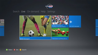 Eurosport hitting Xbox Live from today