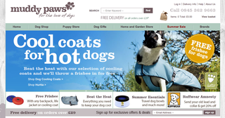 Website of the day: Muddy Paws