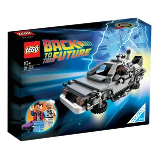 Great Scott! You built a time machine... out of Lego
