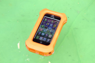 lifeproof life jacket for iphone 5 case big orange and it floats too image 4