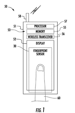 latest apple patent shows iphone 5s fingerprint scanner may be on the screen image 2
