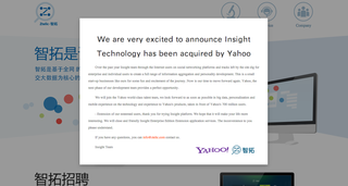 Yahoo acquires Beijing-based social data analysis starup Ztelic