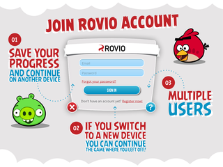 Rovio Account goes live for Android and iOS Angry Birds gamers, lets you save progress to the cloud