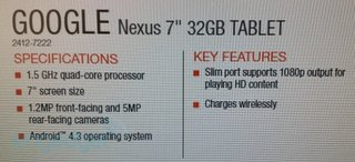 latest nexus 7 2 leak hints wireless charging and 1 5ghz quad core processor image 2
