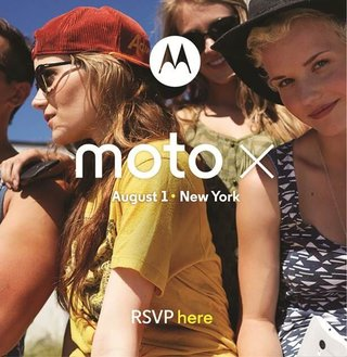 Motorola Moto X event set for 1 August in New York